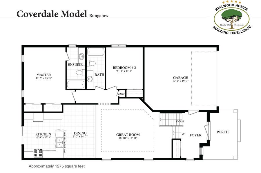 Coverdale floorplan