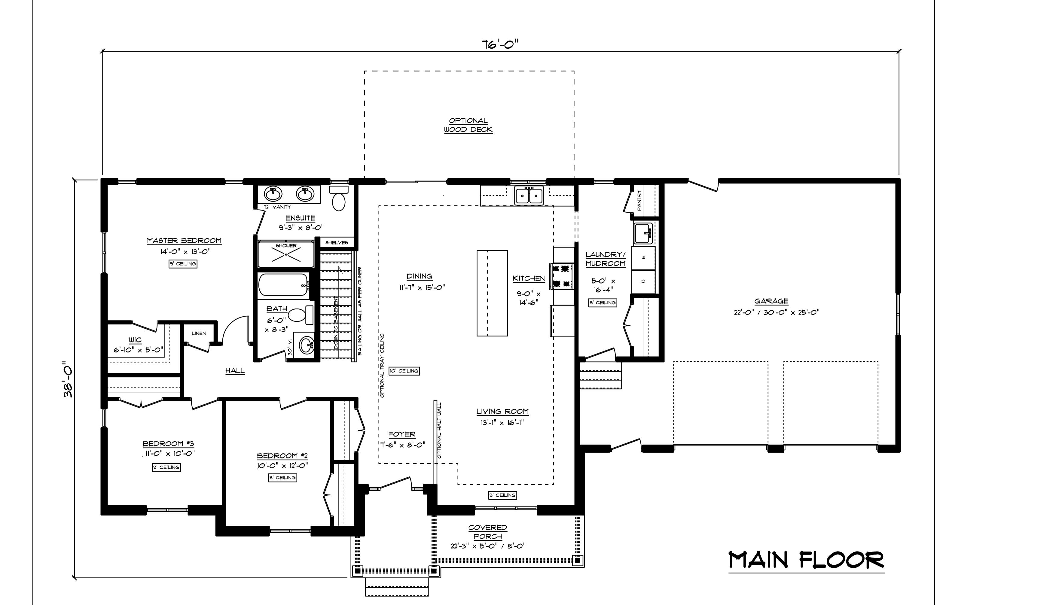 2018   skyview estate blackline floor plan