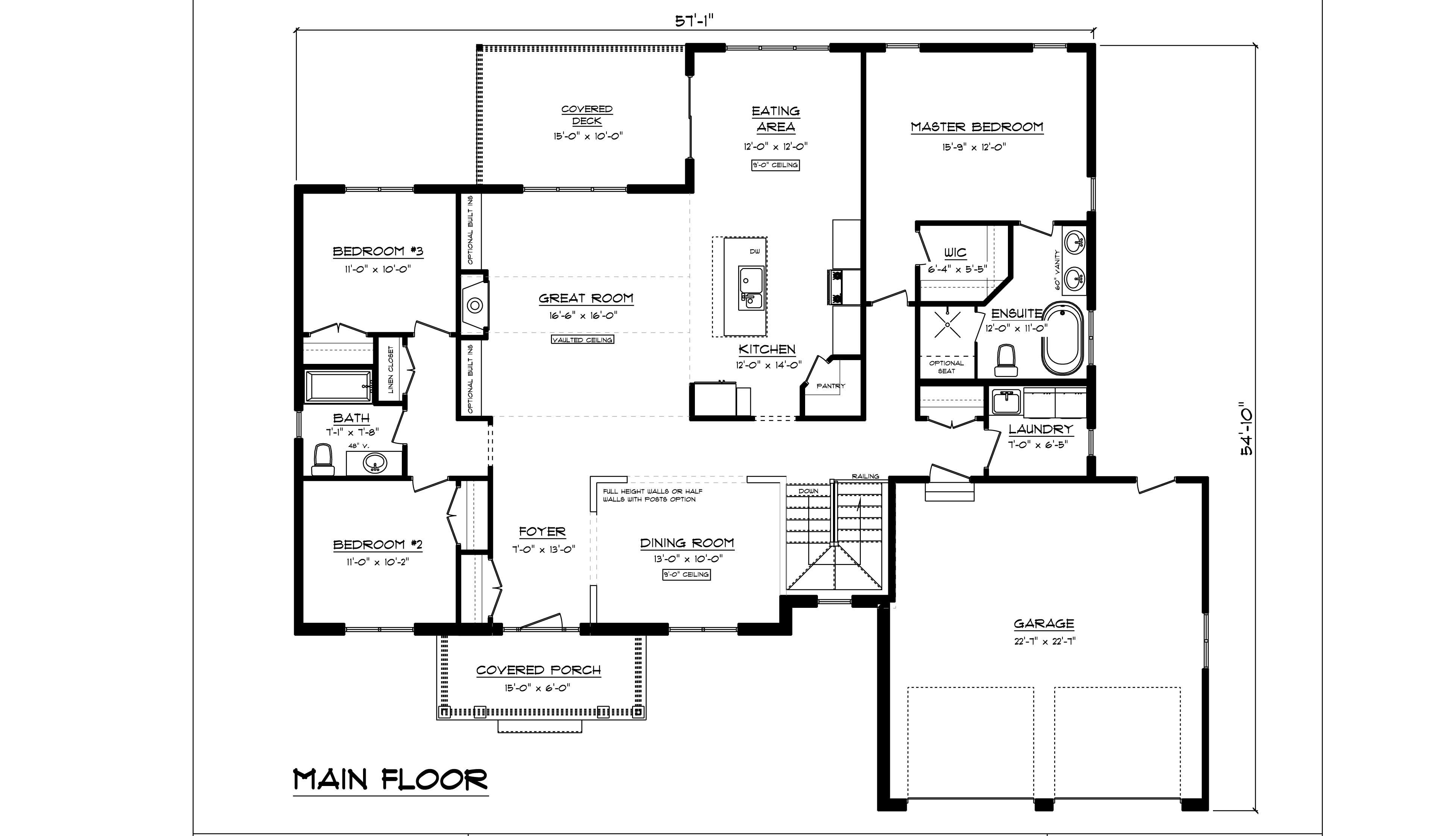 2018   haldimand estate blackline floor plan